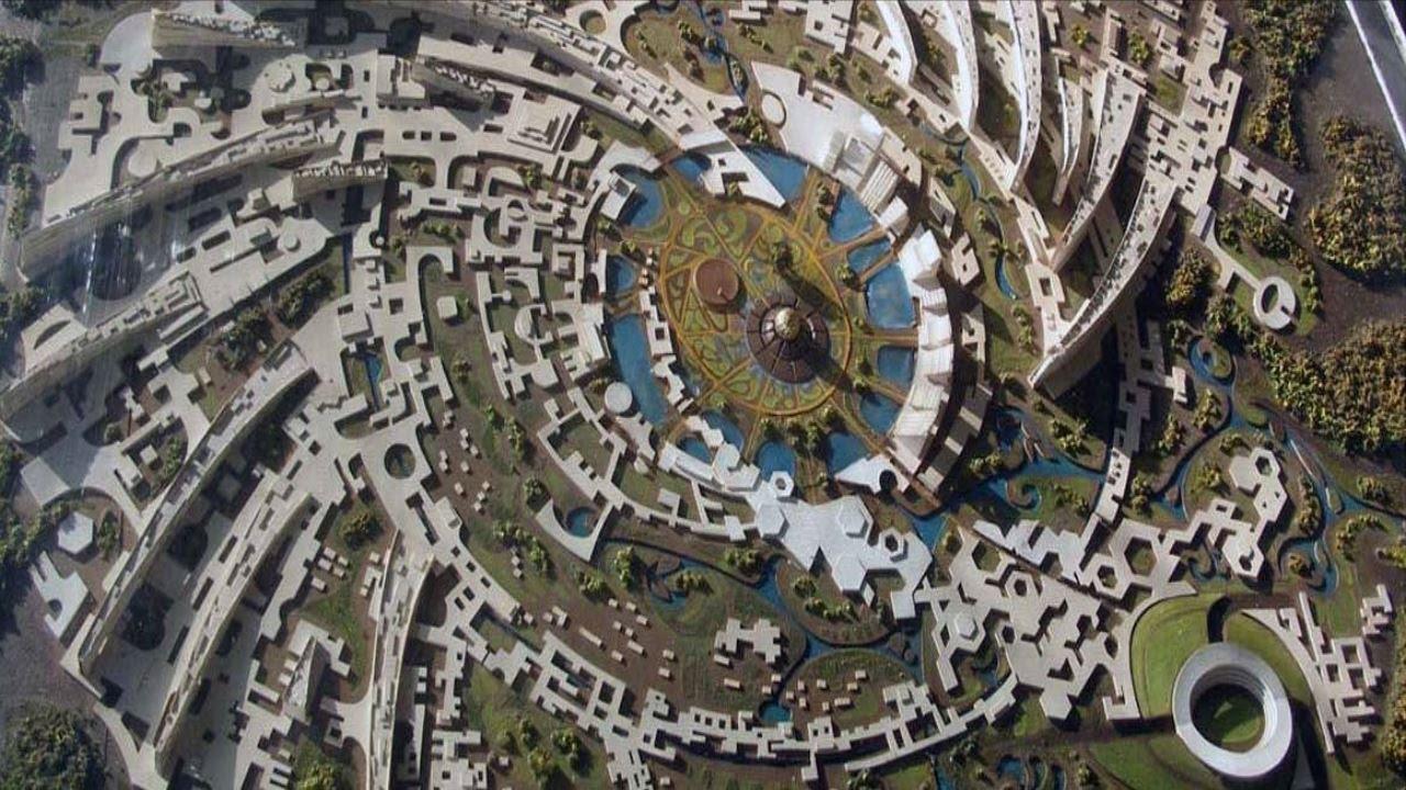 Auroville vue aérienne