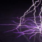 Impacts au sol d'arc électriques
