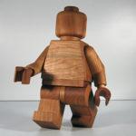 Personnage LEGO bois